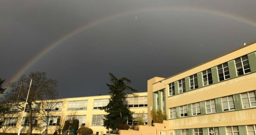 after the rain comes a rainbow